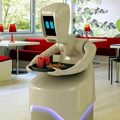 ماکت تبلیغاتی روبات فست فود