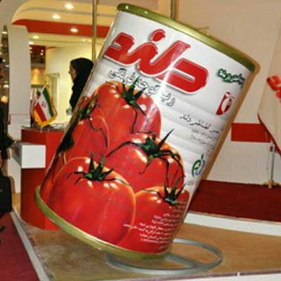 ماکت تبلیغاتی رب گوجه دلند