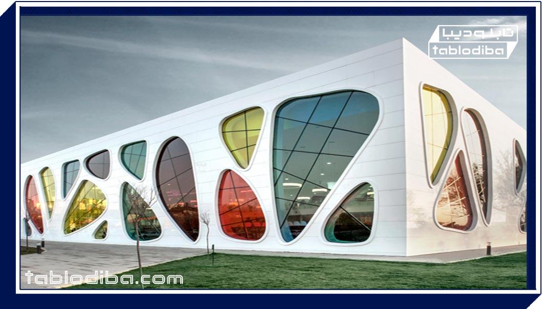 رنگ در معماری، مانند روح در بدن