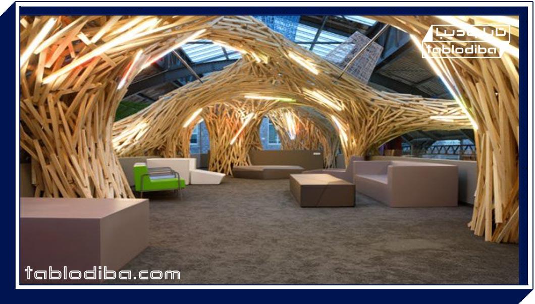 چوب در معماری، تلفیق مدرنیته و سنتی