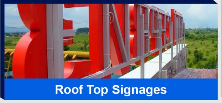 roof top signages