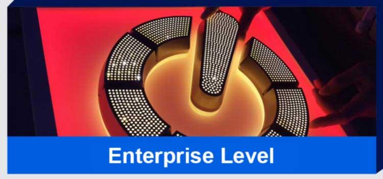 enterprise level signages